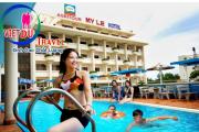 Tour Vũng Tàu 2 ngày 1 đêm – Khách sạn Mỹ Lệ 3 sao