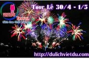 Tour Nha Trang 3 ngày 2 đêm Lễ 30/4/2021