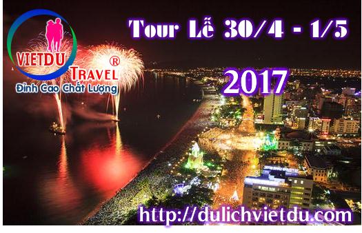 Tour Nha Trang 3 ngày 2 đêm Lễ 30/4/2017