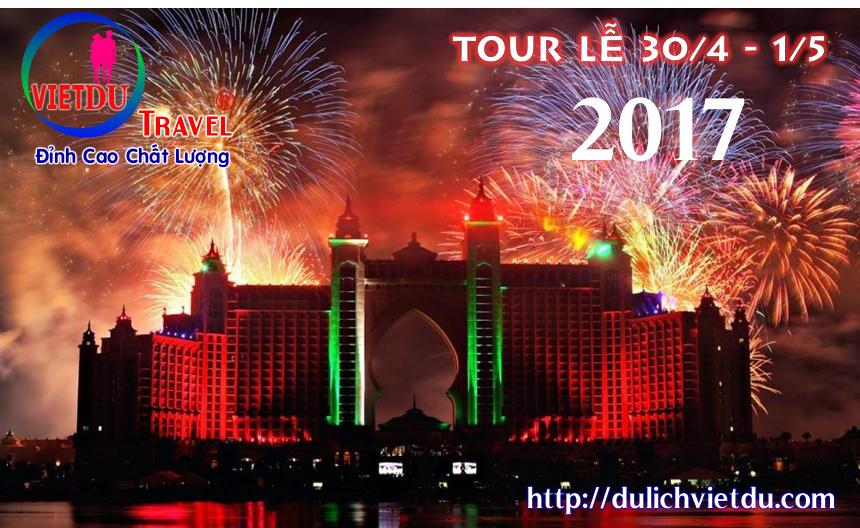 Tour Vũng Tàu 2 ngày 1 đêm Lễ 30/4/2017