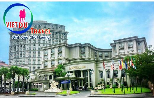 Tour Vũng Tàu ở khách sạn 5 sao The IMPERIAL