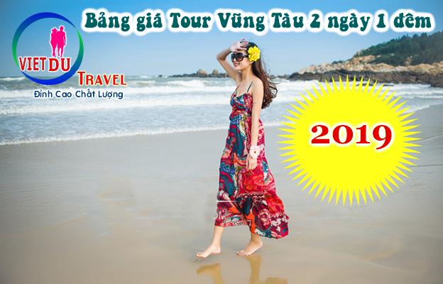 Bảng giá Tour Vũng Tàu 2 ngày 1 đêm