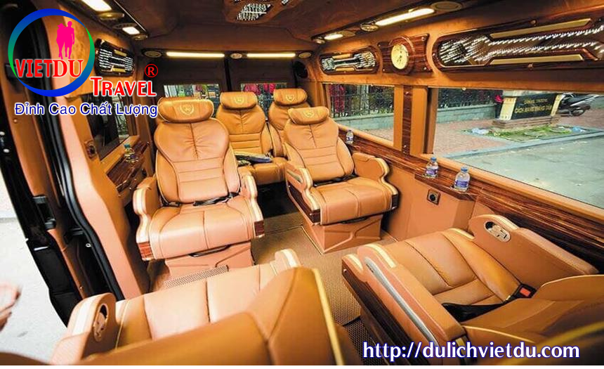 Nội thất xe vip limousin