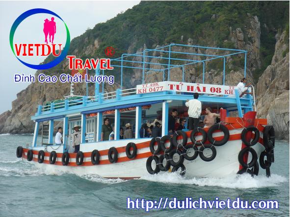 Tour Nha Trang 4 đảo