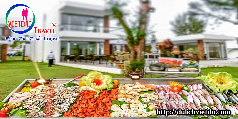 Ăn chiều BBQ du lịch Long Hải