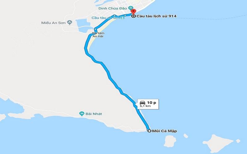 Mũi Cá Mập Côn Đảo