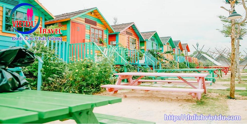 Tour Coco Beach Camp 2 ngày 1 đêm -Ngủ Phòng ( Thứ 2 – Thứ 6)