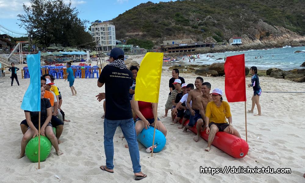 Team Building tại Đảo Bình Ba
