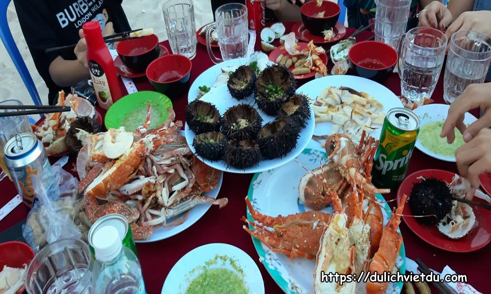 BBQ Tôm Hùm đảo Bình Ba