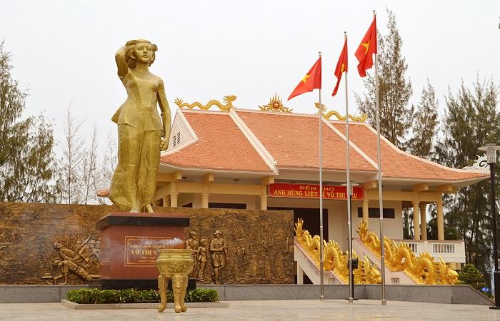 Công Viên Đài Tưởng Niệm Võ Thị Sáu