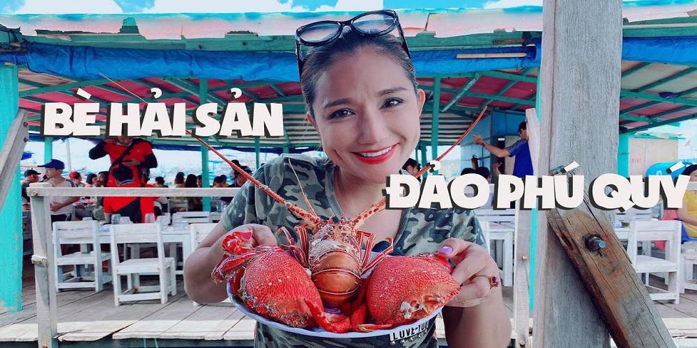Bè hải sản Phú Quý