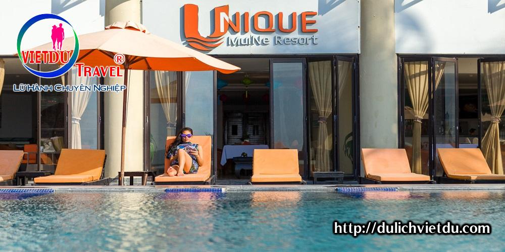 Tour Phan Thiết 2 ngày 1 đêm ở Resort Unique 4 sao