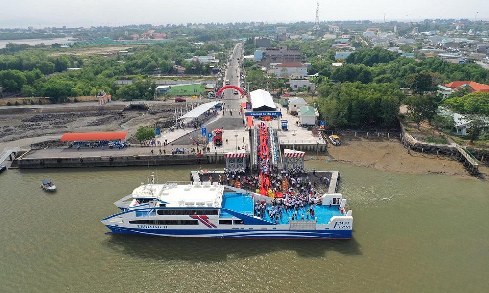 Khai trương tàu cao tốc Cần Giờ - Vũng Tàu