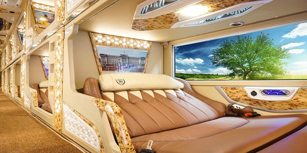Xe Vip Limousin phòng giường nằm đi Đà Lạt