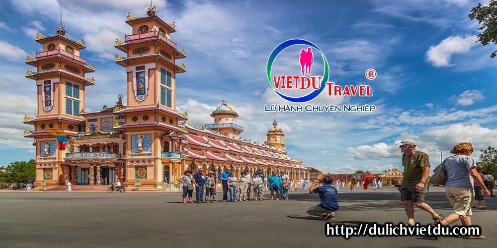 Tour Tây Ninh Núi Bà Đen Vinpearl 2 ngày 1 đêm ( Bao gồm cáp treo)