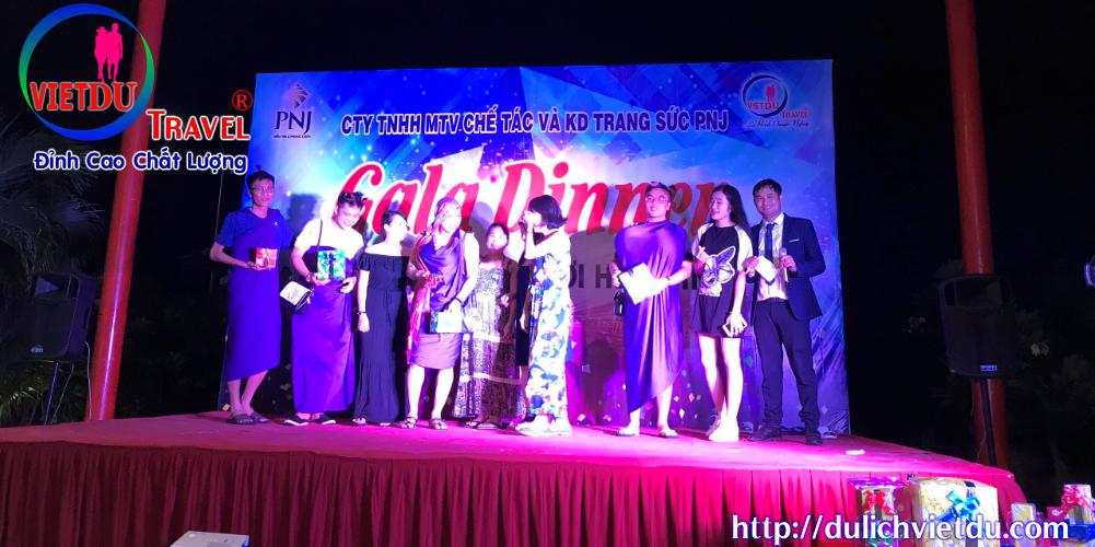 Tour Vũng Tàu 2 ngày 1 đêm team building – Gala Dinner